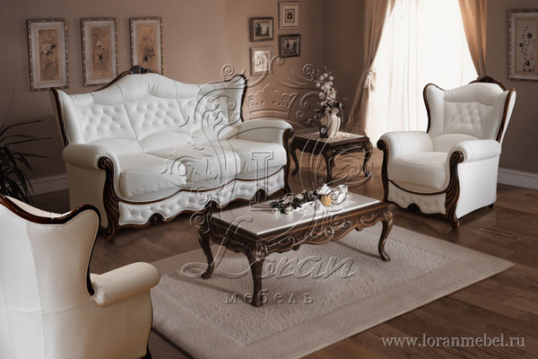 Трехместный диван «Кристалл»