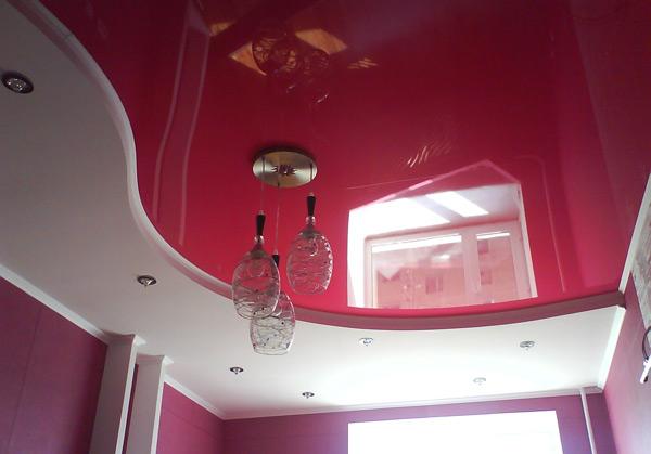 потолки, натяжной потолок