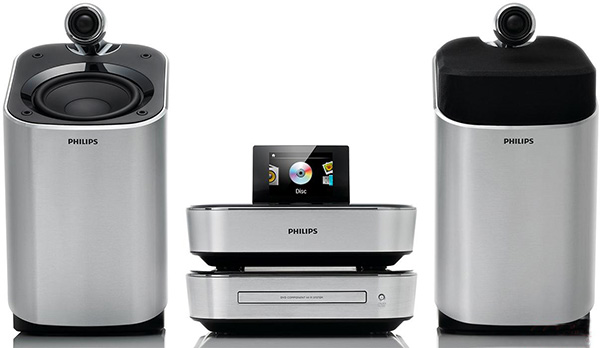 Philips MCD900: DVD-кинотеатр