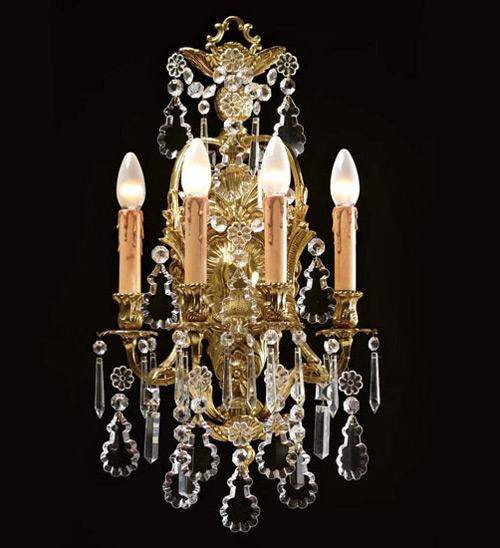 Бра итальянской фабрики Badari Lighting в стиле барокко