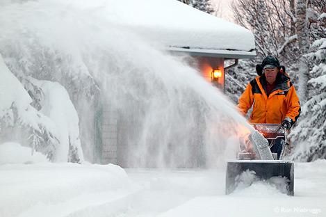 Уборка снега, снегоуборщики, снегоуборочная техника
