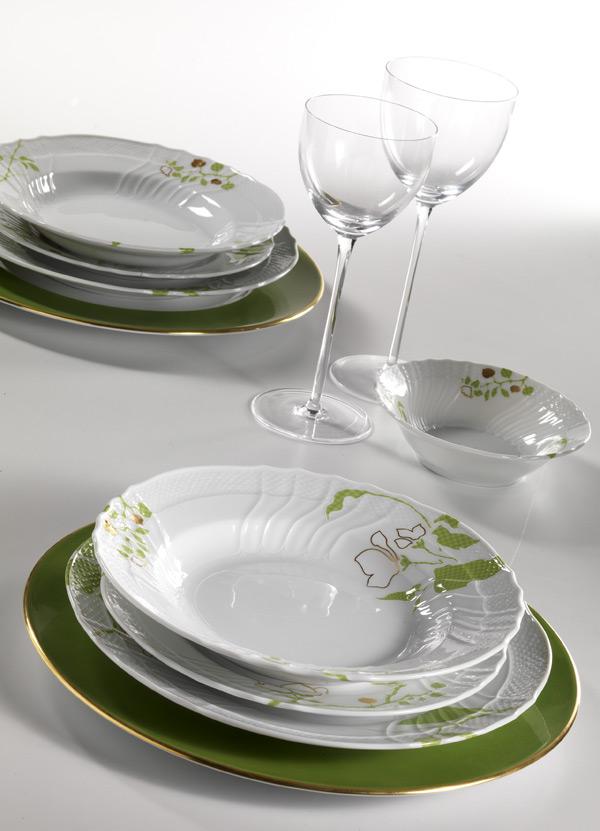 коллекция посуды April