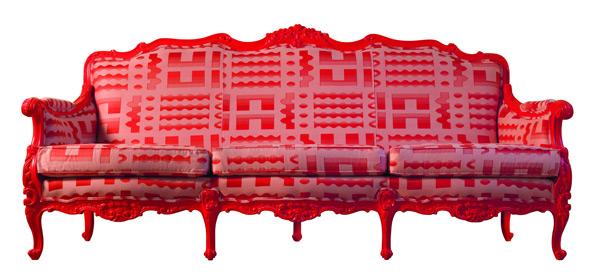красочная мебель от Byblos - диван Mose-Bianchi