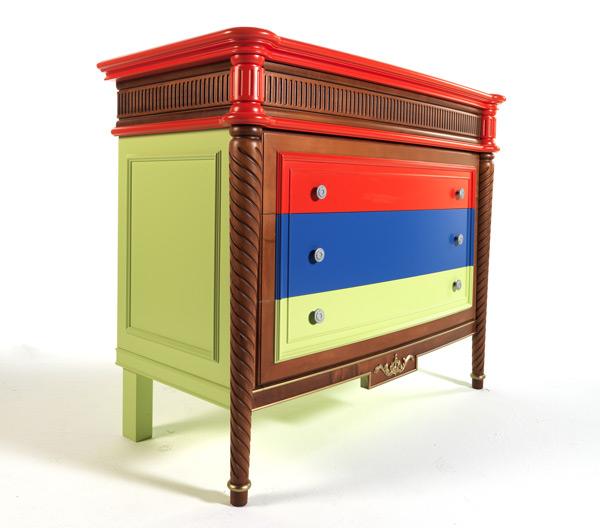 красочная мебель от Byblos