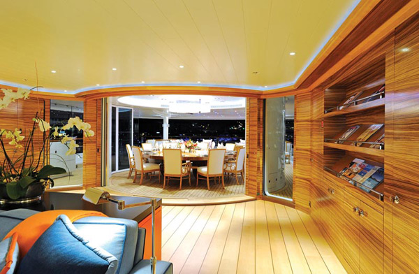 Яхта, яхта TV Lurssen, яхта Madsummer Lurssen, роскошные яхты, яхты за миллион долларов