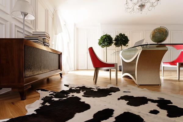 Новая коллекция мебели Tzsar Сельва возрождает экстравагантные формы 19-ого столетия