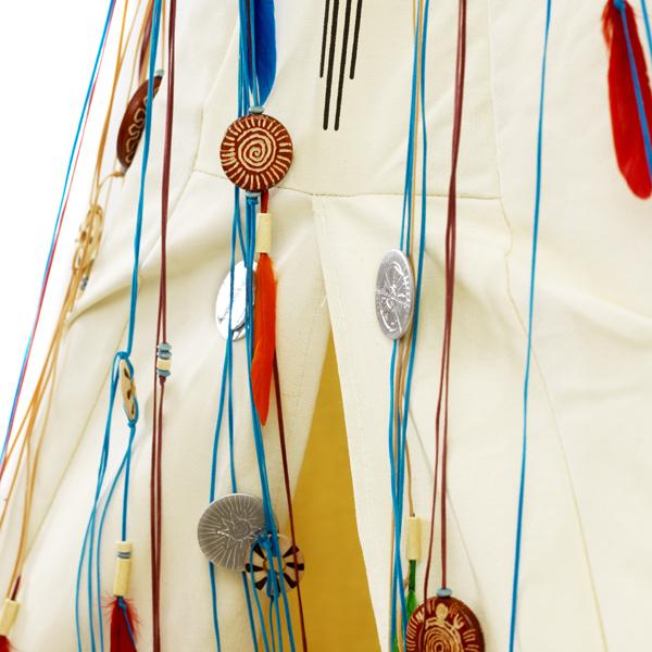 Индейский вигвам для детей, тент