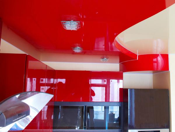 Натяжные потолки: гарпунная и клиновая технологии монтажа натяжных потолков