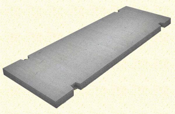 Железобетонная дорожная плита