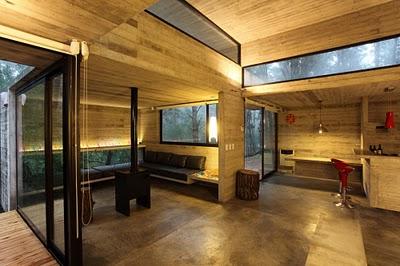Царство дерева и стекла: необычный деревянный дом в Буэнос-Айресе
