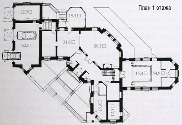Проекты коттеджей: комфортный загородный дом