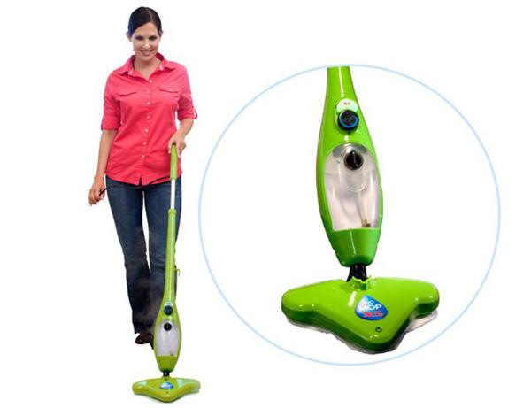H2O Mop X5: паровая швабра против традиционной уборки