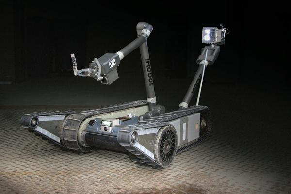 Робот для опасных радиационных зон