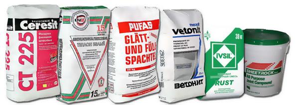 Сухие смеси: покупка, хранение, приготовление раствора