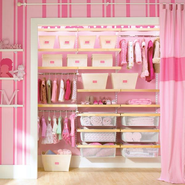 Детская гардеробная комната