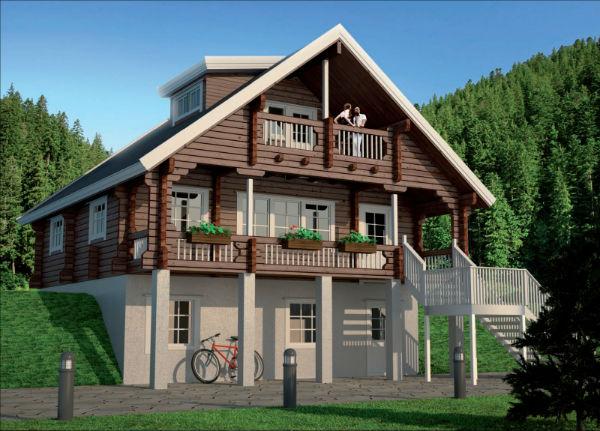 Финские дома из бруса