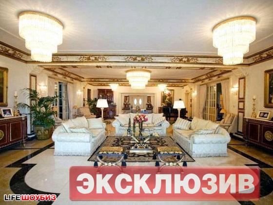 Апартаменты Николая Баскова: квартира площадью 320 кв. м