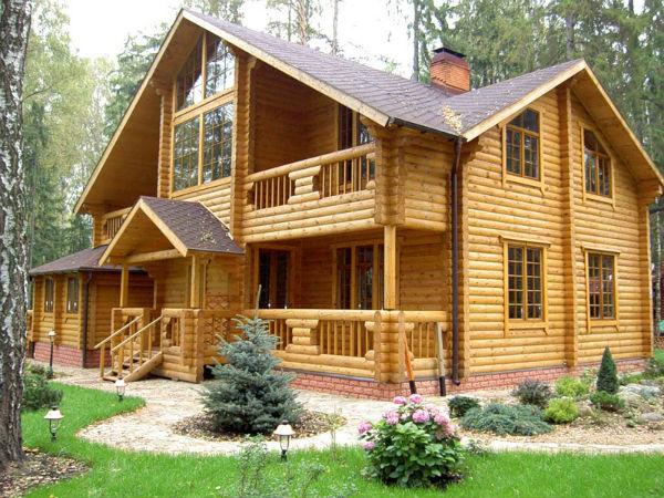 Деревянные дома и дачи