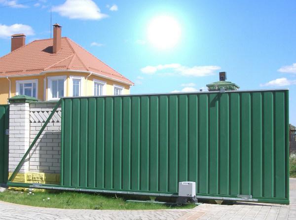 Откатные или распашные ворота?