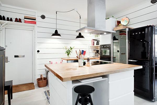 Современная кухня в белом цвете. Фото белой кухни