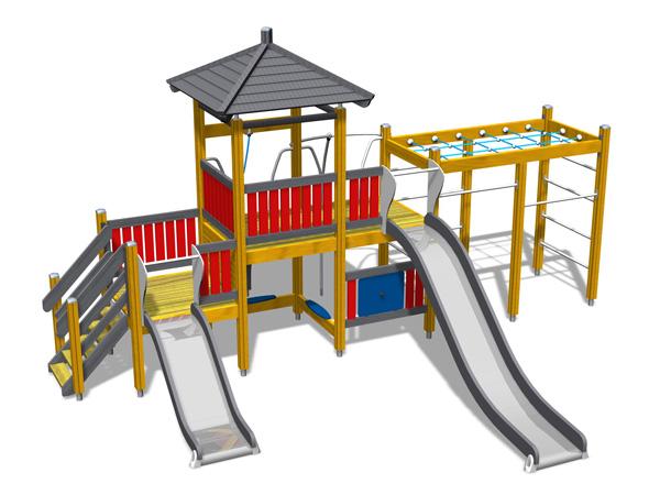 Детска площадка на садовом участке