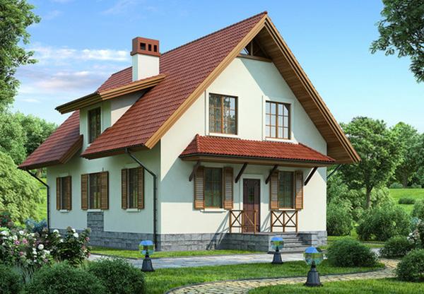 Деревянные каркасные дома с утеплением из полиуретана