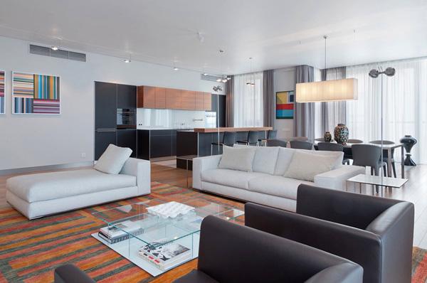 Минимализм и уют: интерьер квартиры 250 кв. метров на Остоженке в Москве