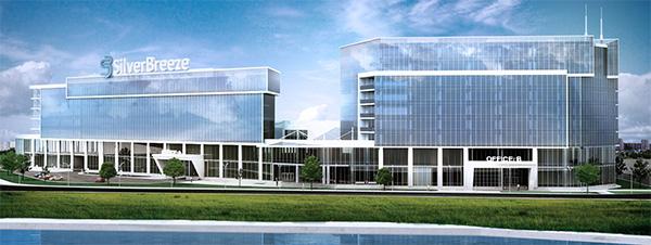 «Silver Breeze Киев»: в столице откроется новый мультифункциональный комплекс