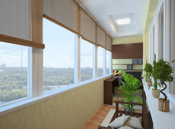 Выбираем тип остекления балконов