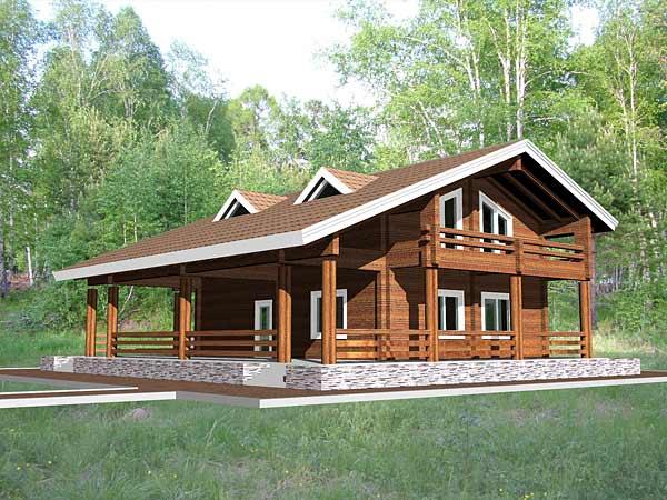 Преимущества деревянных домов из бруса