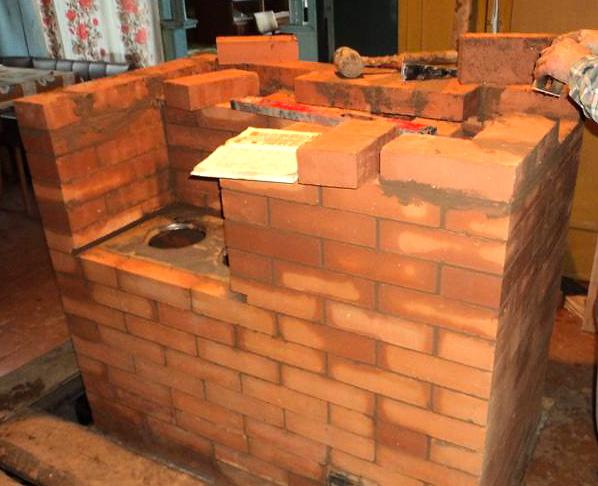 Как построить русскую печь своими руками