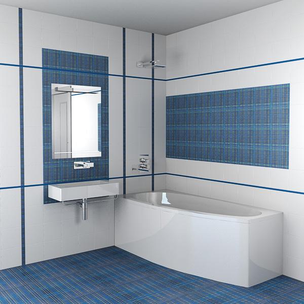 Плитка для ванной: характеристики, дизайн и другие особенности плитки