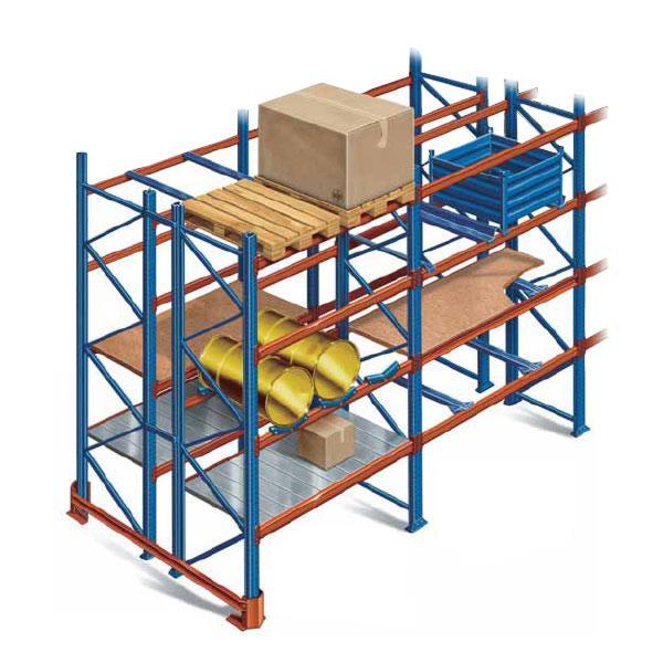 Паллетные стеллажи для склада: основные разновидности и преимущества