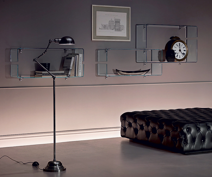 Полки BABILA, дизайнер Luca Casin, FIAM Italia