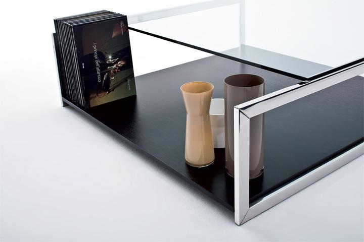 Кофейный столик SQUARE CASE 2, дизайнер Ricardo Bello Dias, GALLOTTI&RADICE