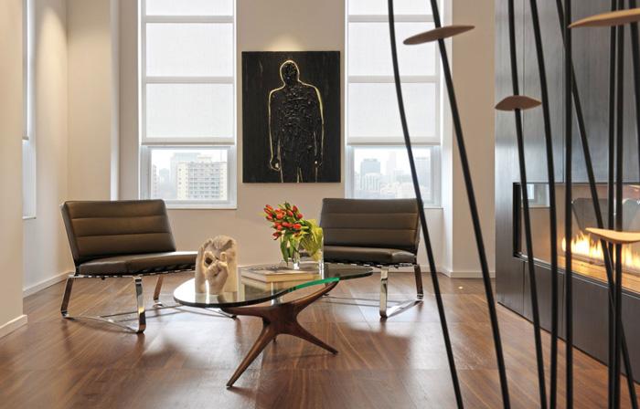 Аппартаменты под небесами: обзор интерьера пентхауса Yorkville в Торонто, Канада