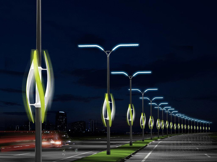 Современное освещение улиц