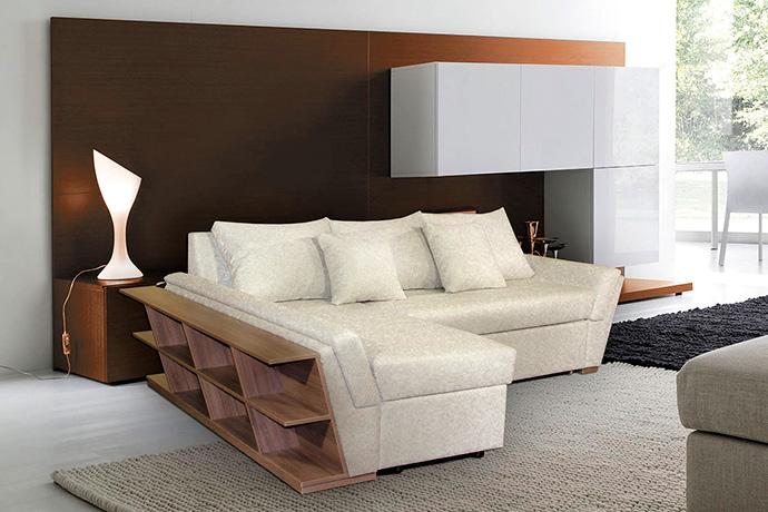 Угловые диваны: преимущества угловой мебели