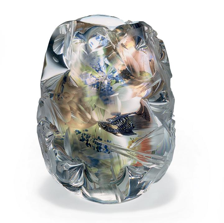 Ваза FABULA, коллекция ART GLASS, дизайнер Per B. Sundbergl, ORREFORS