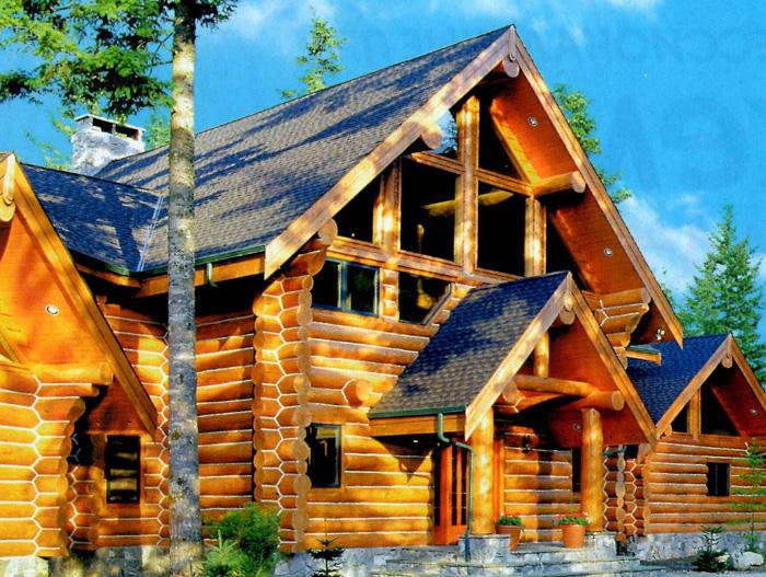 Деревянные дома-срубы: преимущества и недостатки