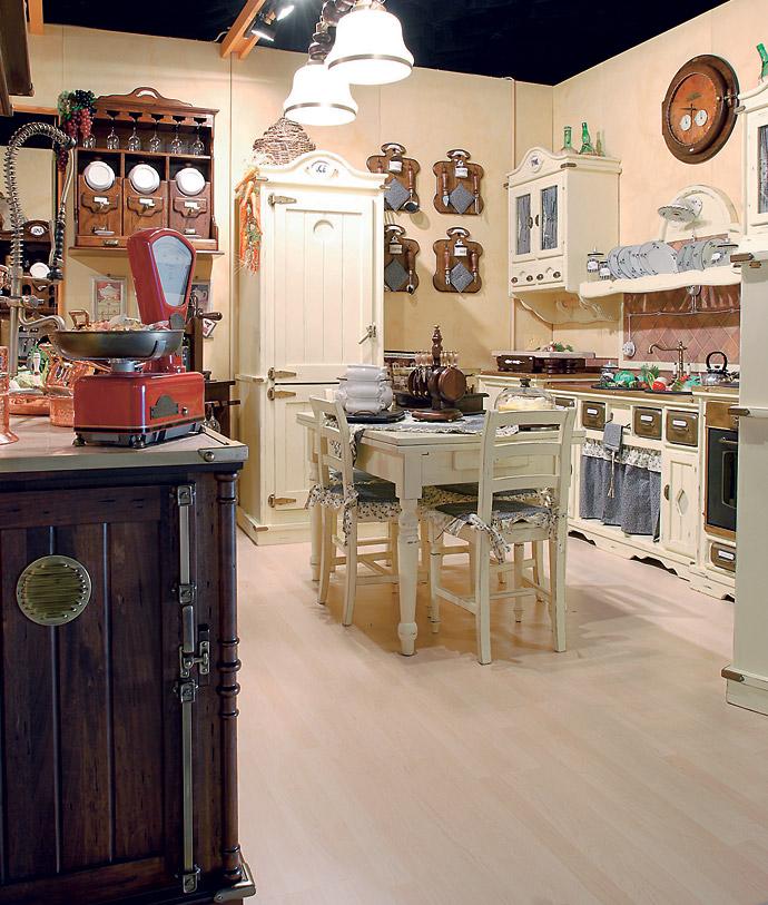 Мебель для кухни. Кухня в стиле прованс. Классическая кухня фото