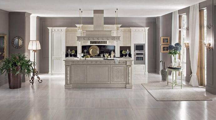 Кухня в классическом стиле. Прованс