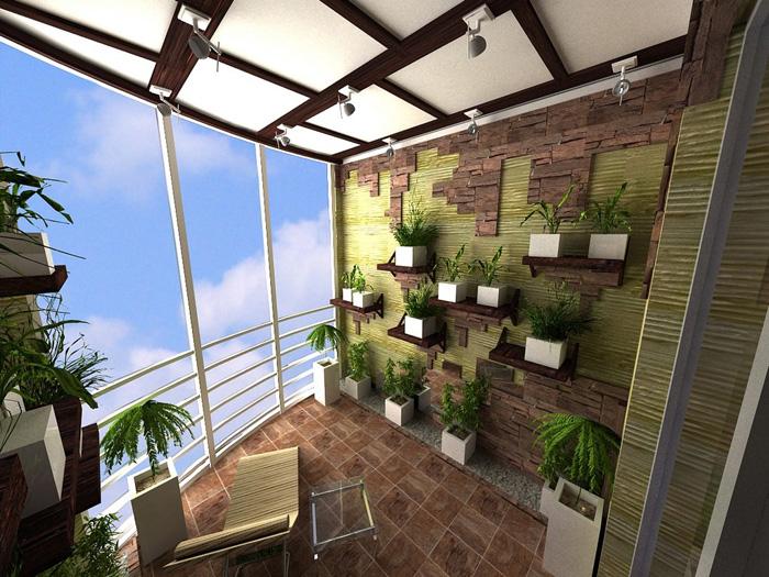 Остекление балконов и лоджий: превращаем лоджию в зимний сад