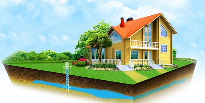 Проведение водоснабжения дома: бурение скважин и подбор оборудования