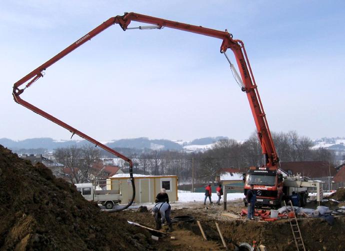 Бетононасосы в строительстве