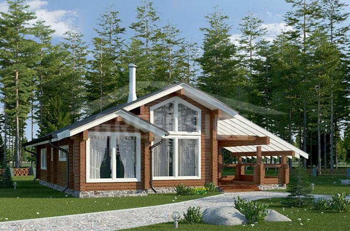 Деревянные дома: из клееного бруса
