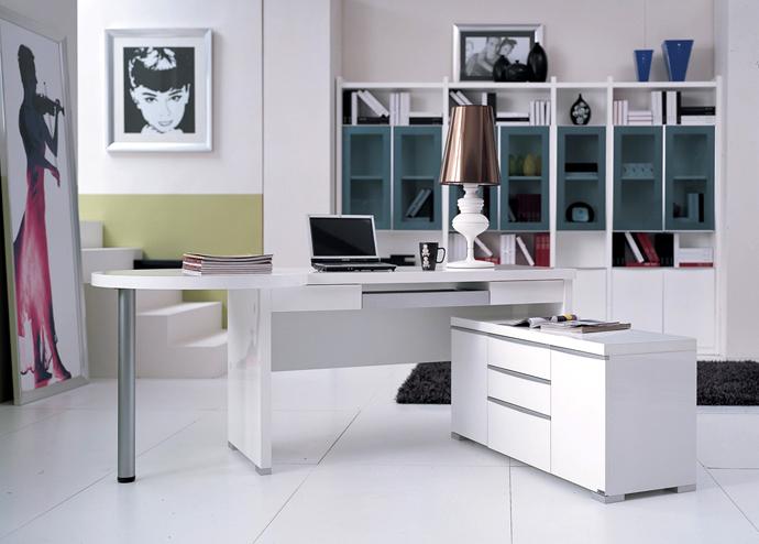 Интерьер кабинета в доме фото. Кабинет в современном стиле фото