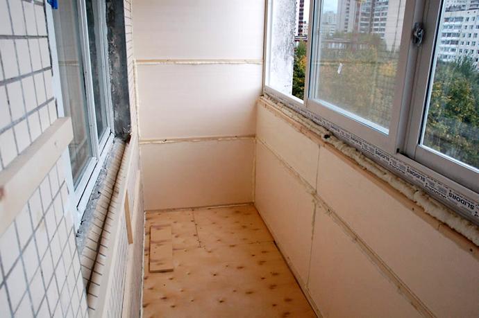 ремонт балкона. утепление балкона. утепление лоджии
