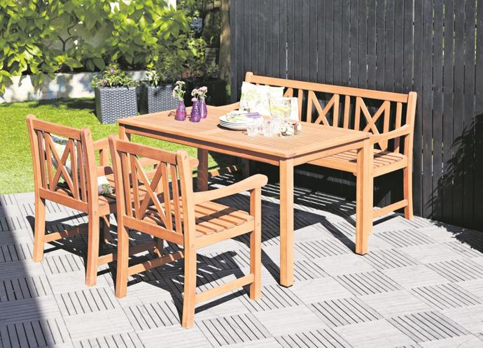 Садовая мебель JYSK. Мебель для террасы JYSK