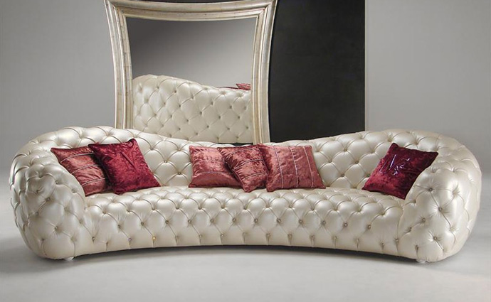Диван итальянского производства. Мягкая мебель из Италии